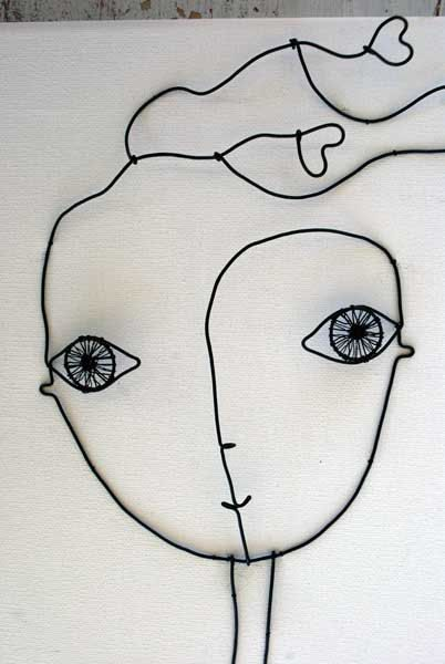 Girl in love di WireDreams su Etsy, $36.00