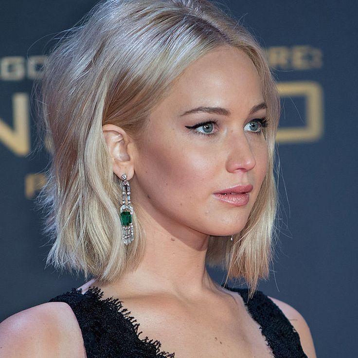 Jennifer Lawrence White Blonde Hair 2015 | POPSUGAR Beauty Australia