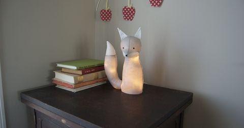 Fox Lamp Tutorial