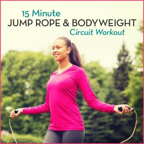 No school like the old school! Try this 15 minute #circuit #workout and jump into spring!