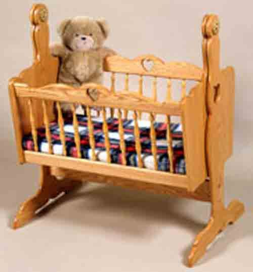Doll Cradle Plans includes free PDF download. Paper