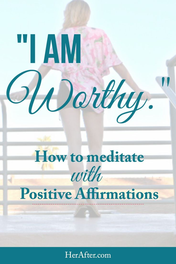 how to build affirmations into life
