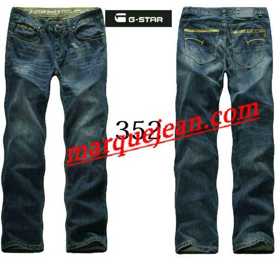 Vendre Jeans G-star Homme H0011 Pas Cher En Ligne.