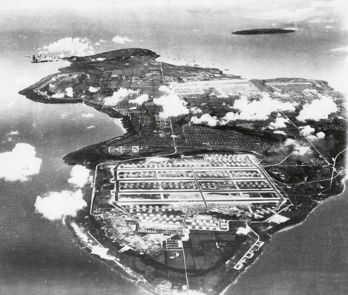 The 6th Bomb Group: Tinian Island--wonder if this was when my grandfather was there!