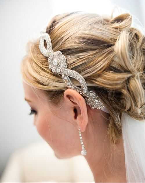whimsical bridal hairstyles - Google Search