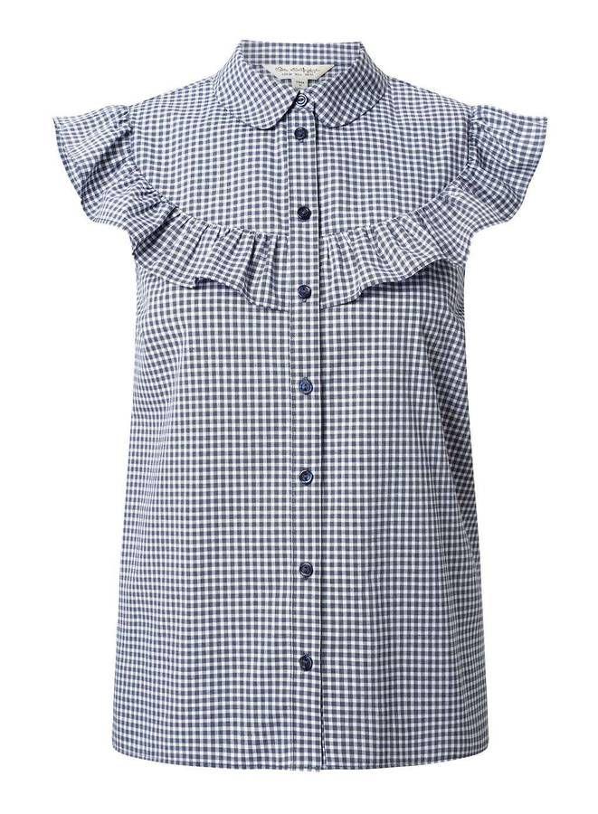Chemise sans manches à volants Miss Selfridge