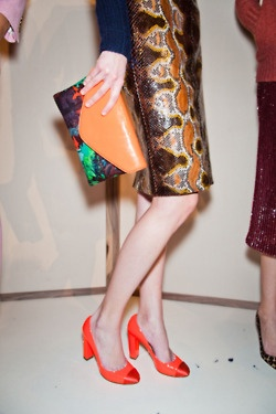 ..j. crew (including their collaboration with manolo blahnik), fall 2012..
