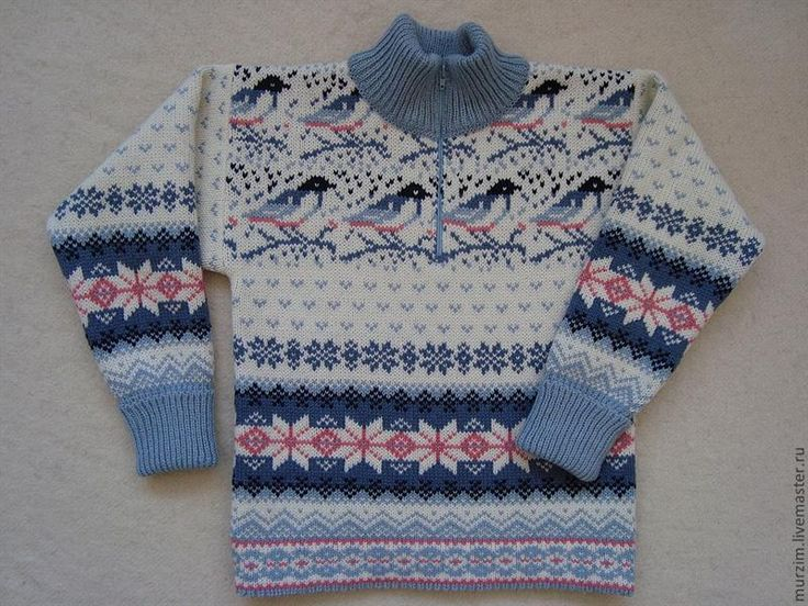 Узор на детский свитер
