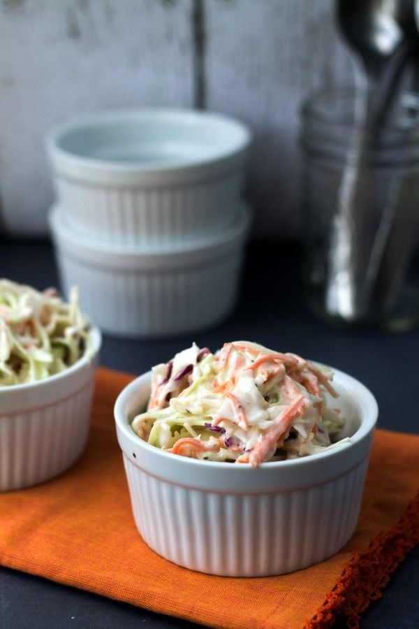 Creamy Homemade Coleslaw - This Gal Cooks