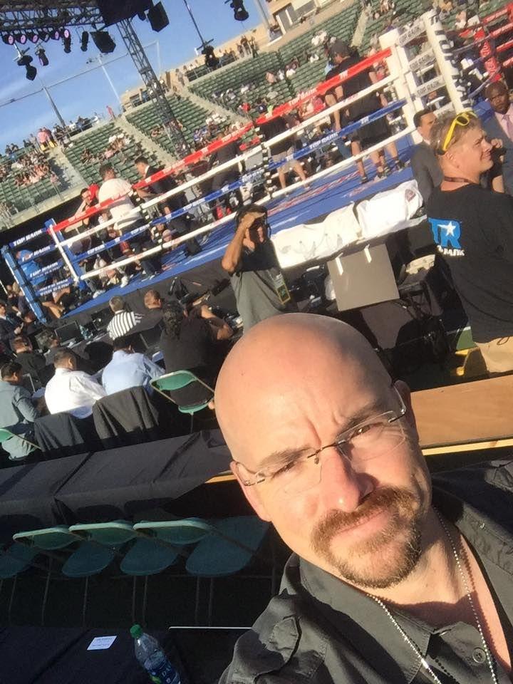 It's hot and sunny StubHub Center Top Rank Boxing