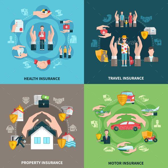 Insurance Design Concept Concept Design Logo Design Home Logo