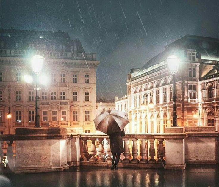 Romantic Vienna nights, Albertinaplatz