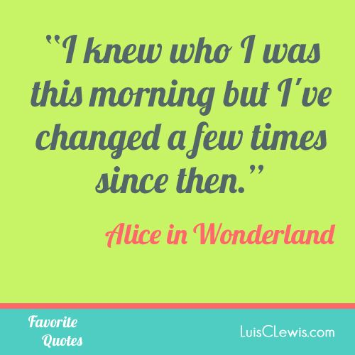 Alice In Wonderland Sayings: Printable Alice In Wonderland Quotes. QuotesGram