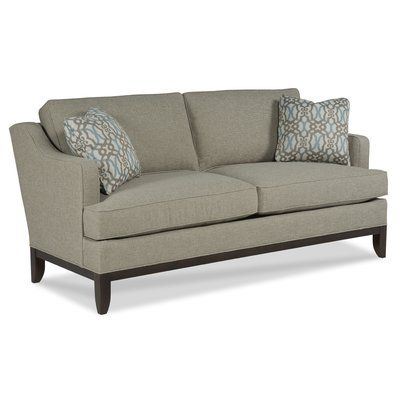 Fairfield Chair Loose Pillow Transitional Sofa Upholstery: Sand