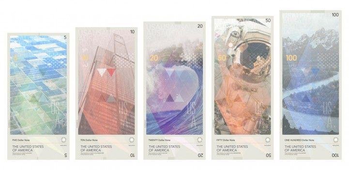 Designer Travis Purrington reimagines US Currency with modern design