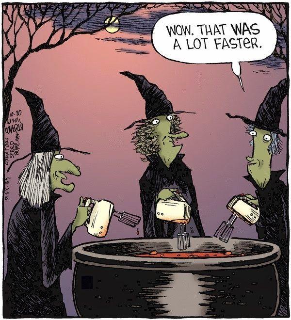 funny witches blender brew halloween humorhalloween - Halloween Humor Jokes