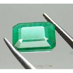 Certified Natural Zambian Emerald 2.11 Carat