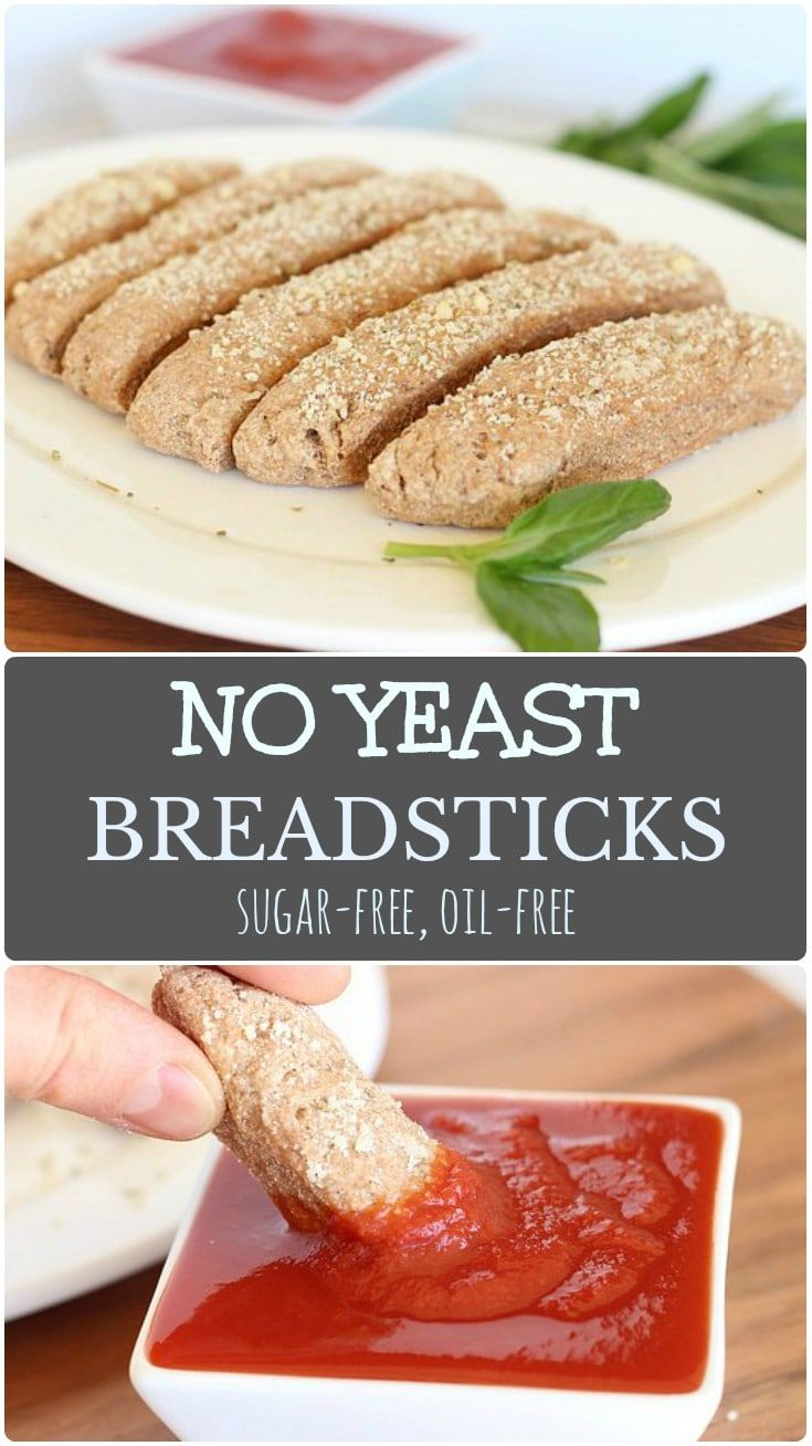 Soft Breadsticks Made Without Yeast Sugar Or Oil Gluten Free Breadsticks Wheat Free Bread Yeast Free Breads
