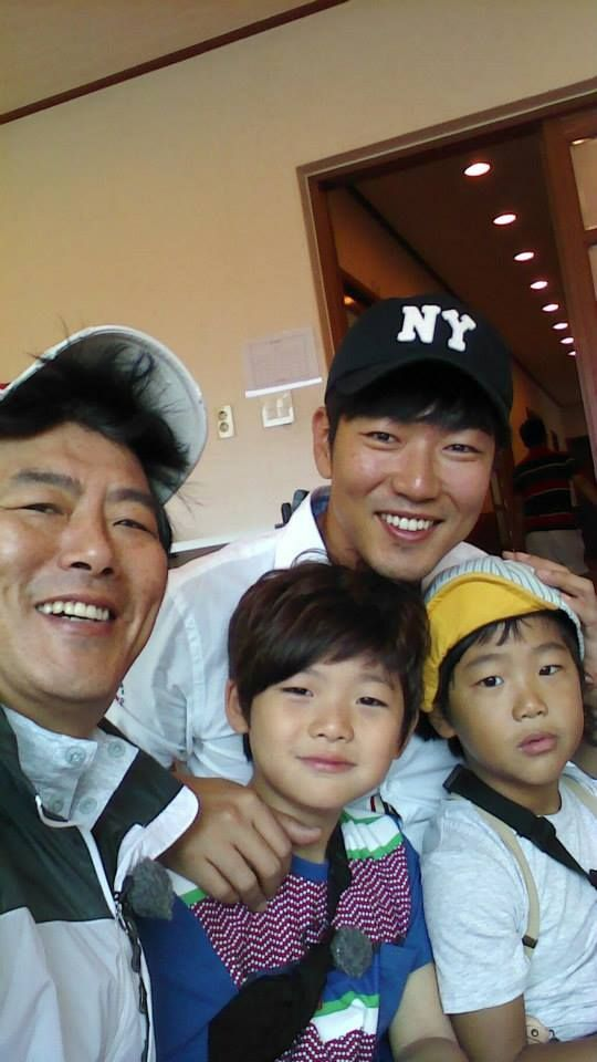 with Joonie & Dong Il appa