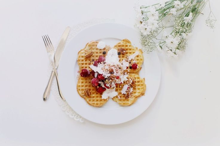 The Swedish Waffle Day - Gluten Free Protein Rich Waffles + 3 Other Healthy Waffle Recipes | 100 KITCHEN STORIES