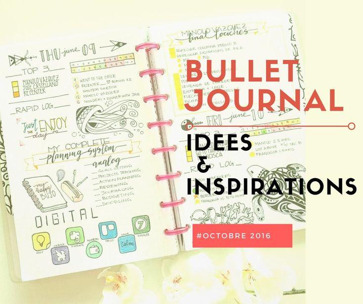 Découvrez mes inspirations de bullet journal minimaliste pour le mois d'Octobre. D'autres inspirations sont disponibles. Commencez à planifier!