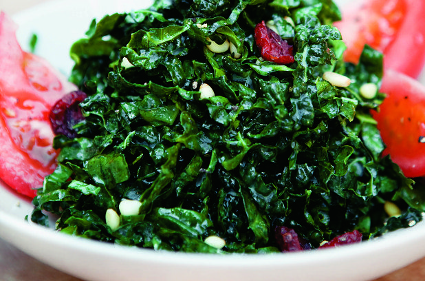 Salade splendide de chou frisé | Métro