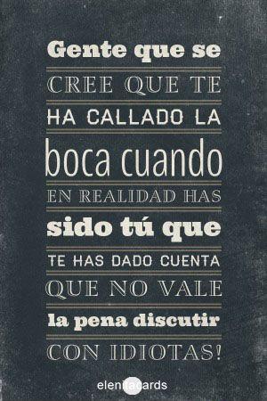 frase, pensamiento, sarcasmo, callar, hablar