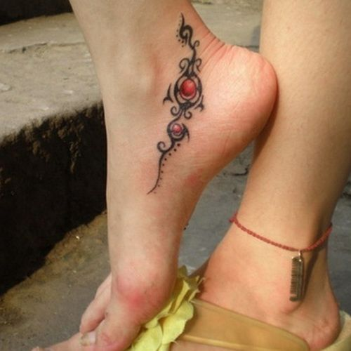 Foot Tattoos For Women   Cute Foot Tattoo Designs for Girls tribal