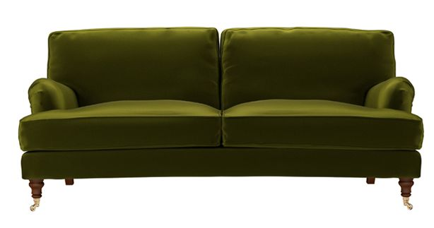 Pin by laurie pym on smitten pinterest for Moss green sectional sofa