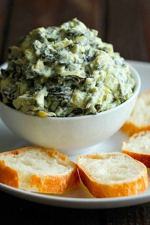 Spinach Artichoke Dip | 18 Easy Party Dips You Can Make In A Slow Cooker