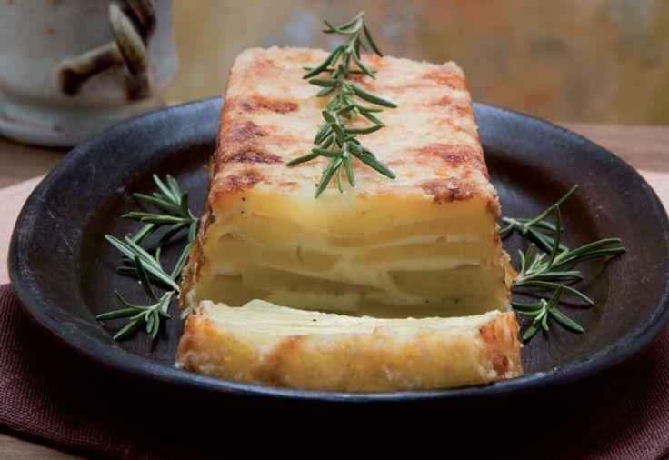Sformato di patate e fontina ricetta
