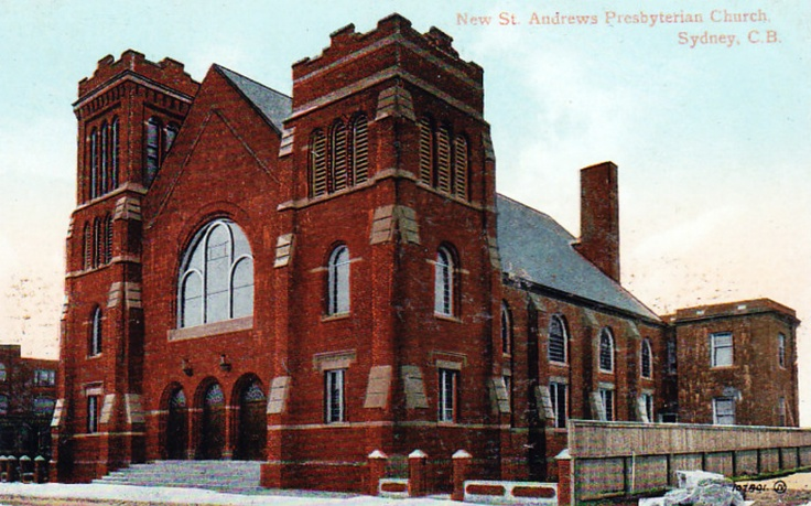 St. Andrews Presbyterian Church_Sydney_Cape Breton Island_Nova Scotia | Photographs And Memories of Cape Breton_Cape Breton Nova Scotia