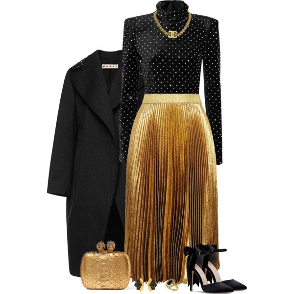 A fashion look from December 2017 by tuomoon featuring Marni, Yves Saint Laurent, Christopher Kane, Alexander McQueen, Allurez and Oscar de la Renta