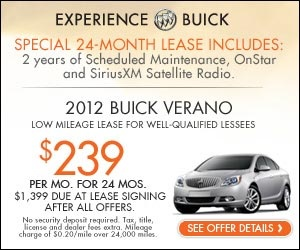 memorial day lease specials 2014