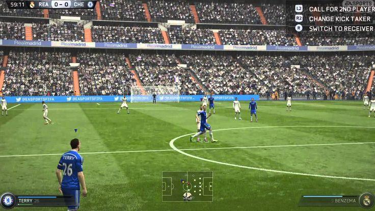 FIFA 15 Kick Off 3-0 REA V CHE, 2nd Half