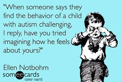 ;) now you know just a bit of how they feel everyday!!! Autism & Aspergers Awareness