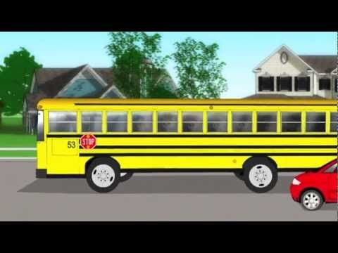 School Bus Safety - Kids Song by Patty Shukla - LOVE THIS