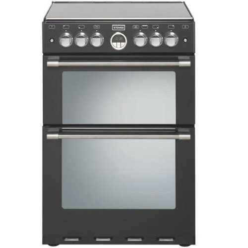 Stoves STERLING600DFBLK Cooker  The stoves Stoves STERL600EBLK Cooker is a beautifully designed double oven. The 69 litre main cavity is a ...