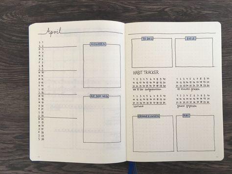 Bei der Gestaltung der Monatsübersicht in deinem Bullet Journal sind deiner Fantasie keine Grenzen gesetzt. Hier findest du 5 Ideen zur Inspiration.
