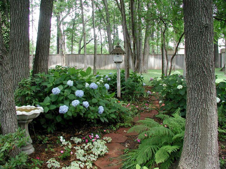 Best 360 pretty pathways images on pinterest gardening for Woodland shade garden designs