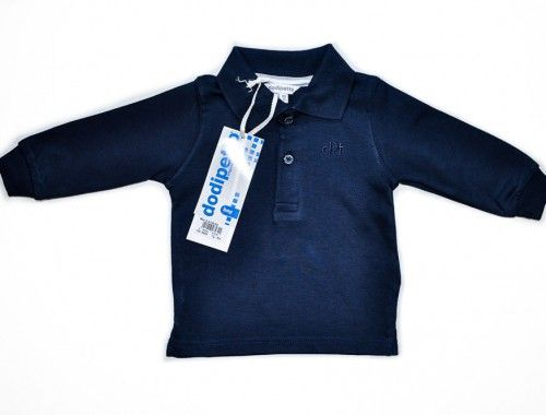 Dodipetto Polo – Χειμωνιάτικη Μπλούζα Για Μωρά      Χειμωνιάτικη μπλούζα Polo για μωρά αγόρια.     Χρώμα: Μπλέ.     Σύνθεση: 100% Βαμβάκι.     Μάρκα: DODIPETTO     Προέλευση: ΙΤΑΛΙΑ