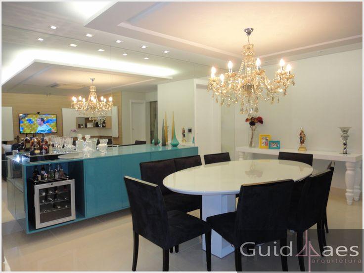 Buffet Sala De Jantar Laca ~ buffet, sala de jantar, azul  sala de jantarsala de almoçocopa
