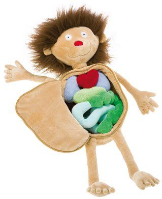 Sigikid Erwin the Little Patient Educational Toy - Wild and Woolly