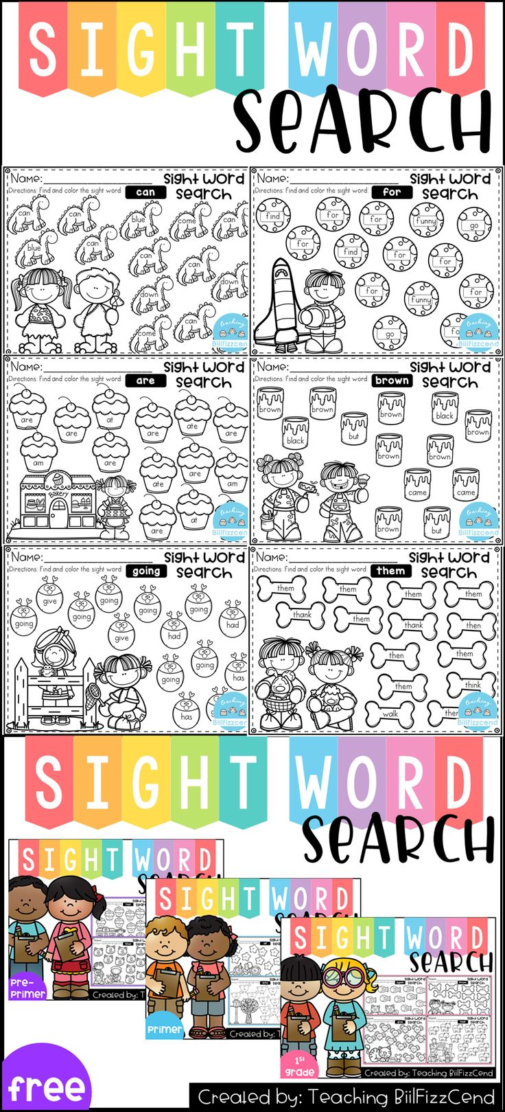 1055 best reading sight word practice images on pinterest sight