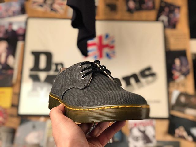 casual shoes look for best value Delray Black Millitary Heavy Canvas #allaboutdrmartens ...