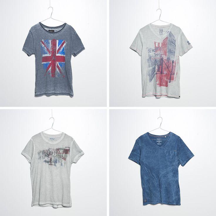 #brandpl #fw14 #aw14 #autumnwinter14 #tshirt #mencollection #men #pepejeans #promote #steadys #grey #blue #michigan #fashion #onlinestore #online #store