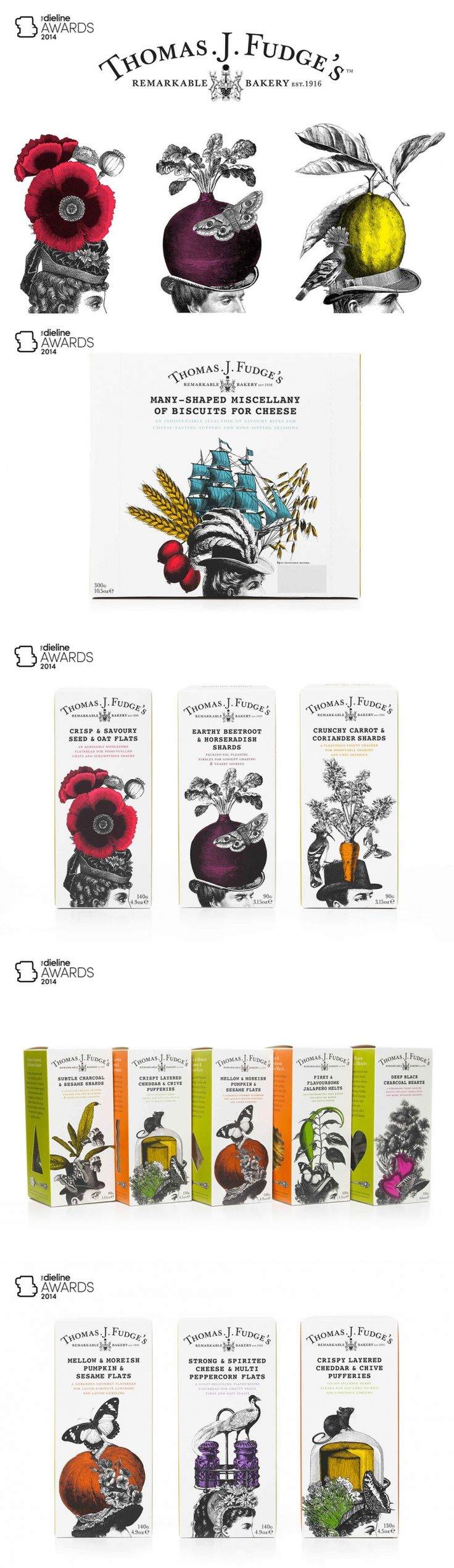The Dieline Awards 2014: Prepared Food, 3rd Place – Thomas J Fudge — The Dieline   Packaging & Branding Design & Innovation News