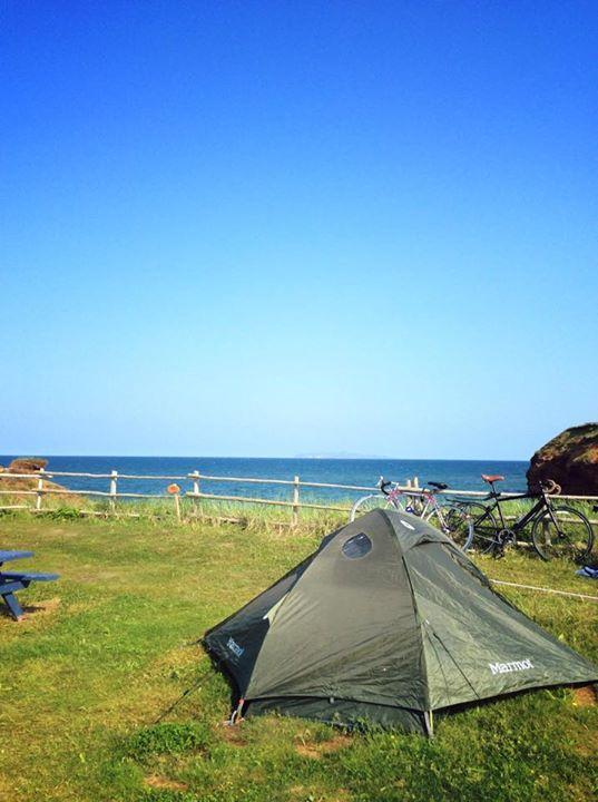 camping du Parc de Gros-Cap, îles de la Madeleine