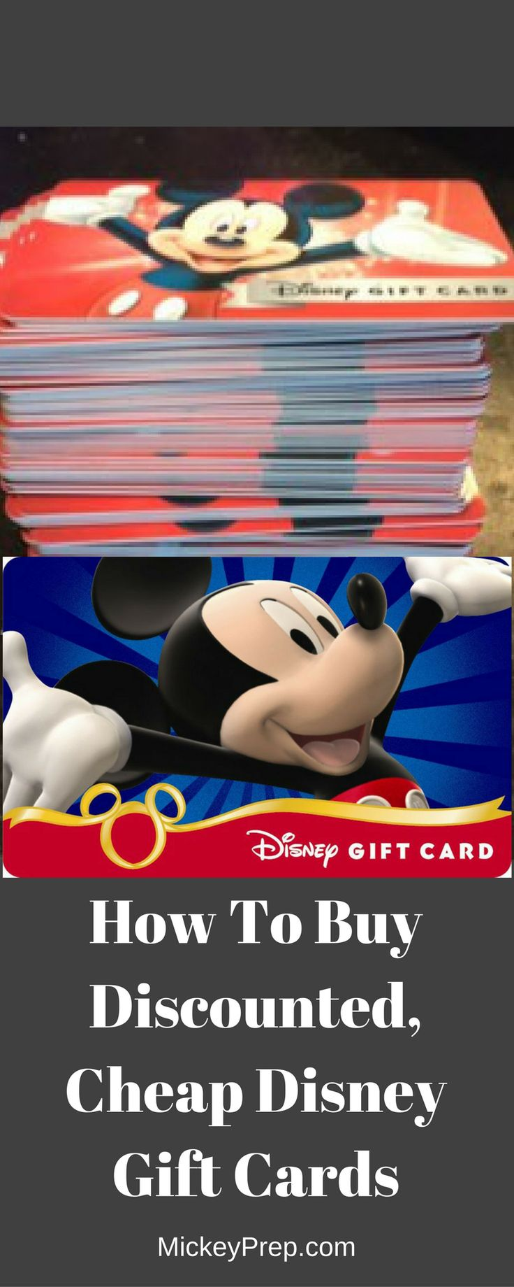 How To Buy Discounted, Cheap Disney Gift Cards
