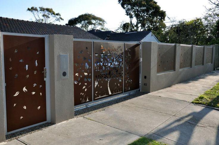 Cortex Steel laser cut panels